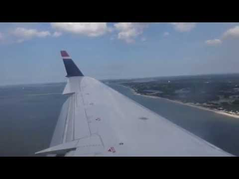 [HD] US Airways CRJ-200 Landing PHL-ORF