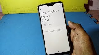 Install Resurrection Remix ROM on Asus Zenfone Max Pro M2 (based on Android Pie)