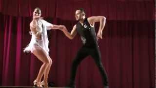 Bachata Performance Jorge Contreras & Alien Ramirez Montpellier France-Romeo & Chelion