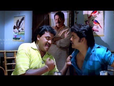 Sunil Nagarjuna and Dharmavaram Comedy Scene in Mass Movie