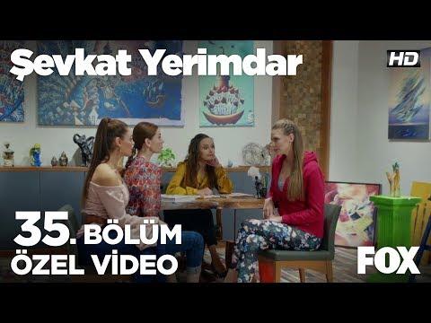 Ludmila'dan kızlara kadınsal öneriler...Şevkat Yerimdar 35. Bölüm