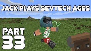 Underwater End? Jack plays Minecraft: SevTech Ages Part 33