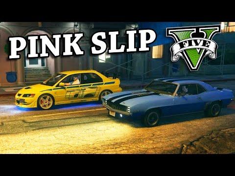 GTA V - 2 Fast 2 Furious Pink slip race Scene