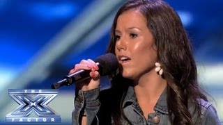 "Download Lagu Brandie Love Sings ""Up to the Mountain"" and Takes Simon to Church! - THE X FACTOR USA 2013 Gratis STAFABAND"