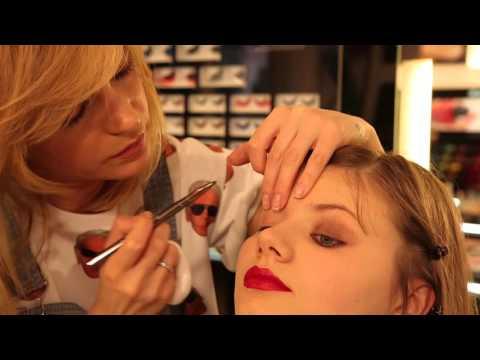 Глюк'oZa Beauty Vlog: Макияж от Глюк'oZы by INGLOT