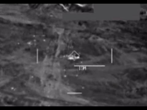 Combatcam airstrike: US razes suspect ISIS bunker