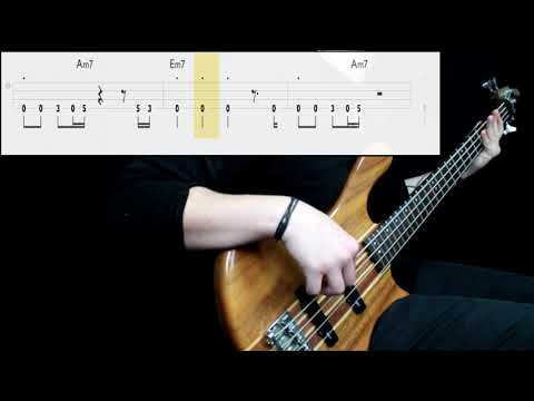 Queen - Another One Bites The Dust (Bass Cover) (Play Along Tabs In Video)
