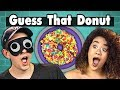 GUESS THAT DONUT CHALLENGE | College Kids Vs. Food