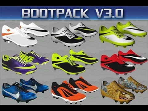 FIFA 14 Moddingway boots - Adidas Samba. Mercurial CR7 Vapor IX 'Galaxy. Hypervenom & more [HD]
