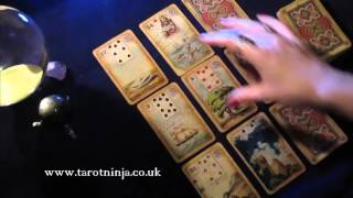 How to Read a Lenormand Box Spread - Future Predictions for Work