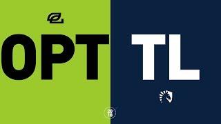 OPT vs. TL - NA LCS Week 8 Match Highlights (Summer 2018)