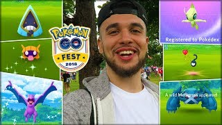 THE BEST DAY OF MY POKÉMON GO CAREER! (Pokémon GO Fest 2018)