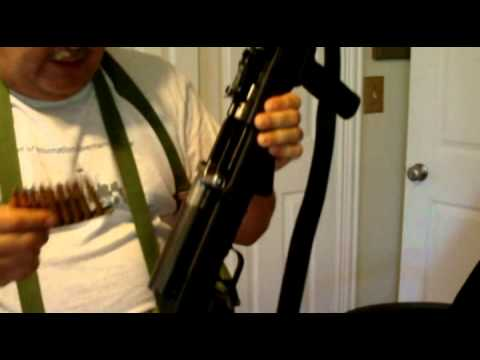 SKS Battle Rifle - PLUS - Loading it with stripper clips