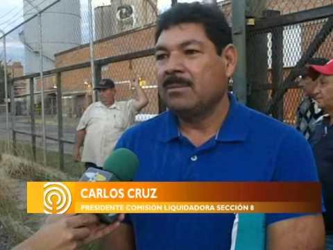 SEÑAL INFO / Ex trabajadores de Industrias Ocotlán protagonizaron enfrentamiento