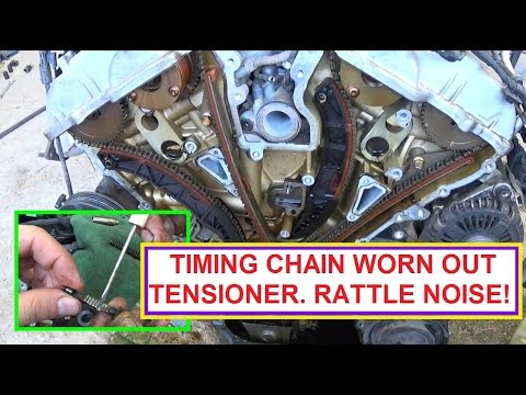 Timing Chain Engine Owner MUST WATCH! Why it is important to REPLACE your timing chain. RATTLE NOISE