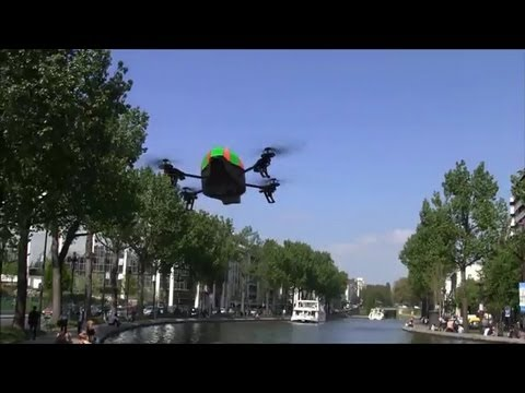 OUTDOOR TEST #4 - AR.DRONE MEETS BOAT