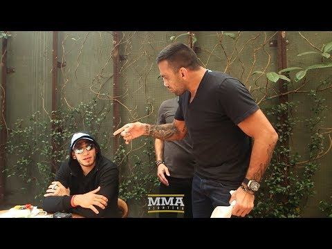 Tony Ferguson, Fabricio Werdum Have to Be Separated at UFC 216 Media Lunch