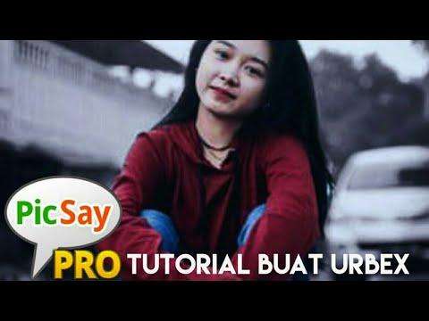 Tutorial cara buat urbex people -PicSay Pro-