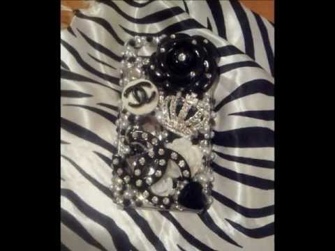 3D Chanel DIY Phone Case Tuturial