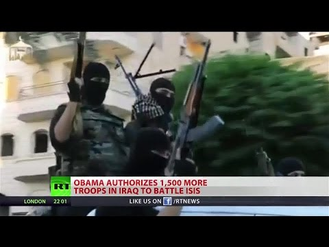 Obama doubles US ground forces in Iraq
