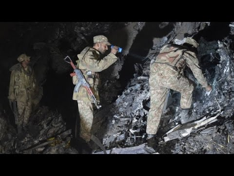 Pakistan plane crash investigation