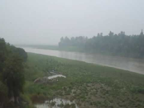 beas river view by bus