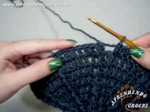 Gorro de Croche Masculino Homem - 1º Parte - Aprendendo Crochê