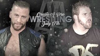 GRIM VS MYERS EPIC FEUD PROMO FOR LADDER MATCH JULY 17TH 2016