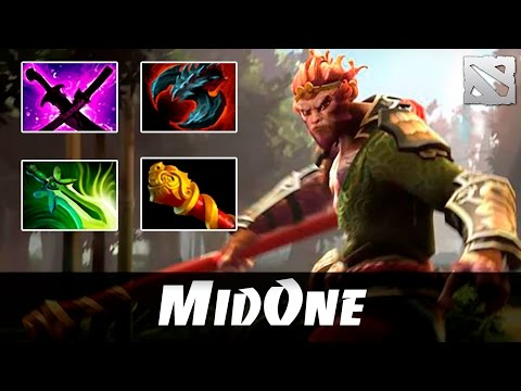 MidOne Monkey King Highlights Dota 2
