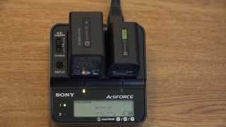 Sony Ladegerät AC-VQV10 sowie Akkus NP-FV70 und NP-FV100