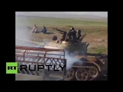 Kurds launch major offensive to retake Iraq's Sinjar from ISIS
