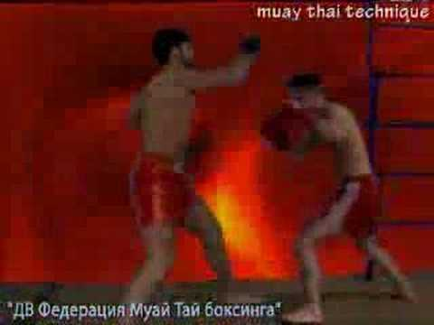 MUAY THAI boxing technique - 9. Russia.Vladivostok Image 1