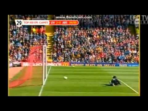 Liverpool Vs Arsenal - Robbie Fowler, Fastest ever hat-trick. Some of the highlights of the game.