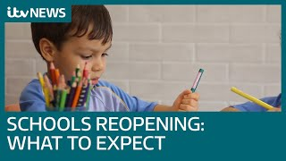 Schools reopening: What to expect | ITV News
