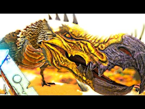 ARK Survival Evolved - DODOWYVERN BOSS BATTLE KILL, KILLING THE DODOWYVERN - Scorched Earth Gameplay
