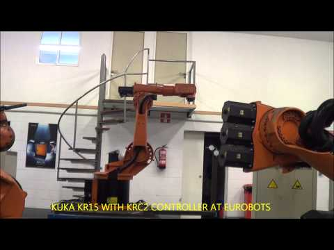 USED ROBOT KUKA KRC15 WITH KRC2 CONTROLLER AT EUROBOTS