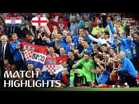Croatia v England - 2018 FIFA World Cup Russia™ - Match 62 | sp:st=soccer