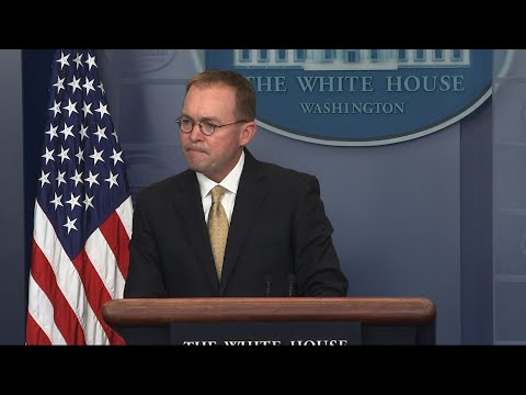 White House Says Democrats Having Temper Tantrum