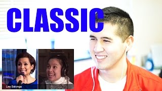 Lea Salonga and Brad Kane: A Whole New World (after 23 years) [REACTION]