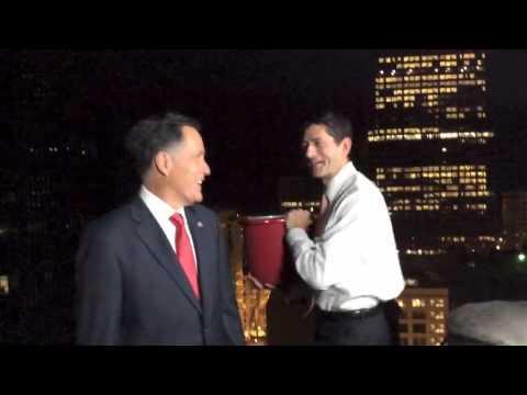 Mitt Romney - ALS Ice Bucket Challenge (HD) # ALS Ice Bucket Challenge