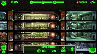 (Almost) Perfect vault layout - Fallout Shelter