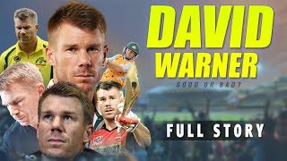 David Warner Biography | SRH Cricketer | IPL 2019