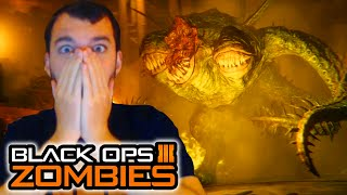 BLACK OPS 3 ZOMBIES OFFICIAL TRAILER - SHADOWS OF EVIL GAMEPLAY REACTION! (Call of Duty)