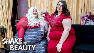 550lb Beautician Launches New Plus-Size Salon And NightClub | SHAKE MY BEAUTY