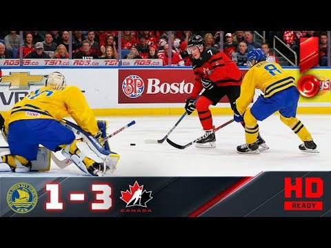 05.01.2018г. ЧМ U-20. Финал. Швеция - Канада - 1:3. Обзор матча
