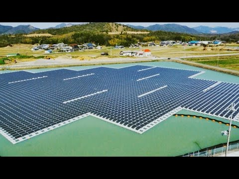 three@five : Japan's floating solar power plant