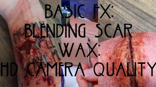 Basic FX: Scar Wax Blending (For HD Camera) | Shard of Glass