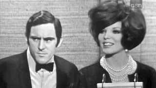 What's My Line? - Anthony Newley & Joan Collins; Soupy Sales [panel] (May 30, 1965)