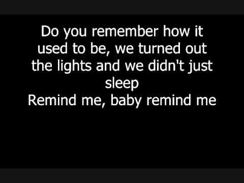Brad Paisley ft. Carrie Underwood - Remind Me Lyrics