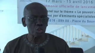 Mamoussé Diagne: ''Le Terrorisme refléte une fragilité de la pensée''